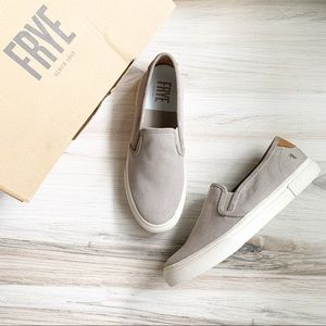 Frye's Gia Canvas Slip On Sneakers